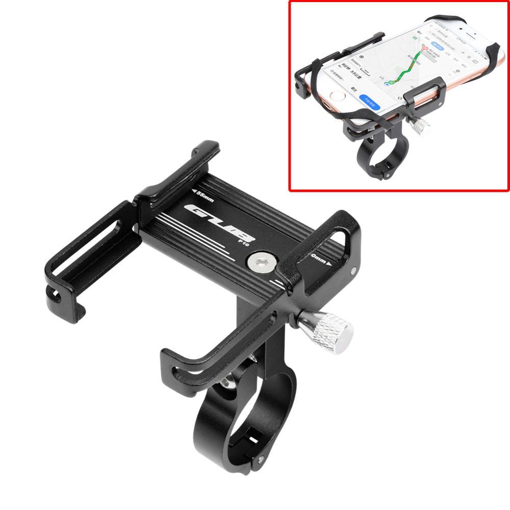 Soporte de teléfono de bicicleta de aleación de aluminio GUB P10 GPS navegación Anti-vibración bicicleta de carretera de montaña motocicleta Smartphone soporte ajustable