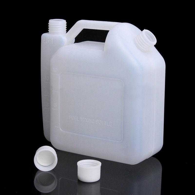 Tanque de botella de mezcla de aceite de gasolina de 2 tiempos de 1,5 l litros para recortadora herramientas para motosierra botella accesorios de aceite piezas KF06-0195