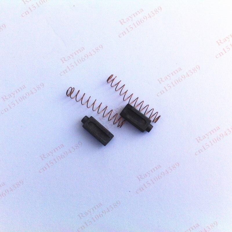 Un par de cepillos de carbono para Pistola de soldadura de aire caliente soldador de plástico herramientas de cepillo de carbono para Pistola de soldadura de aire caliente