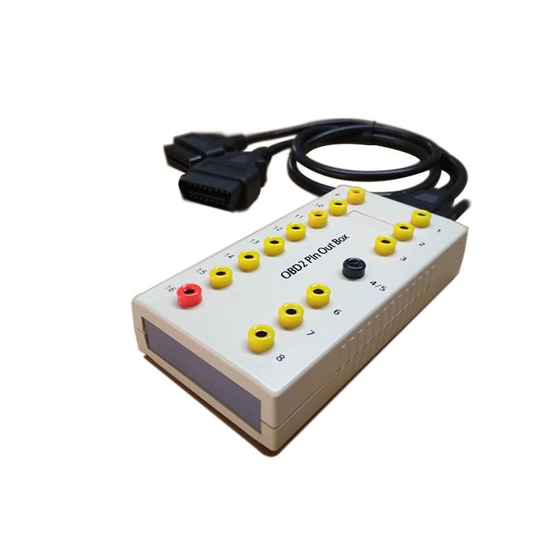 ALBABKC OBD2 pinout box/pin out box для отладки интерфейса OBD 16 pin