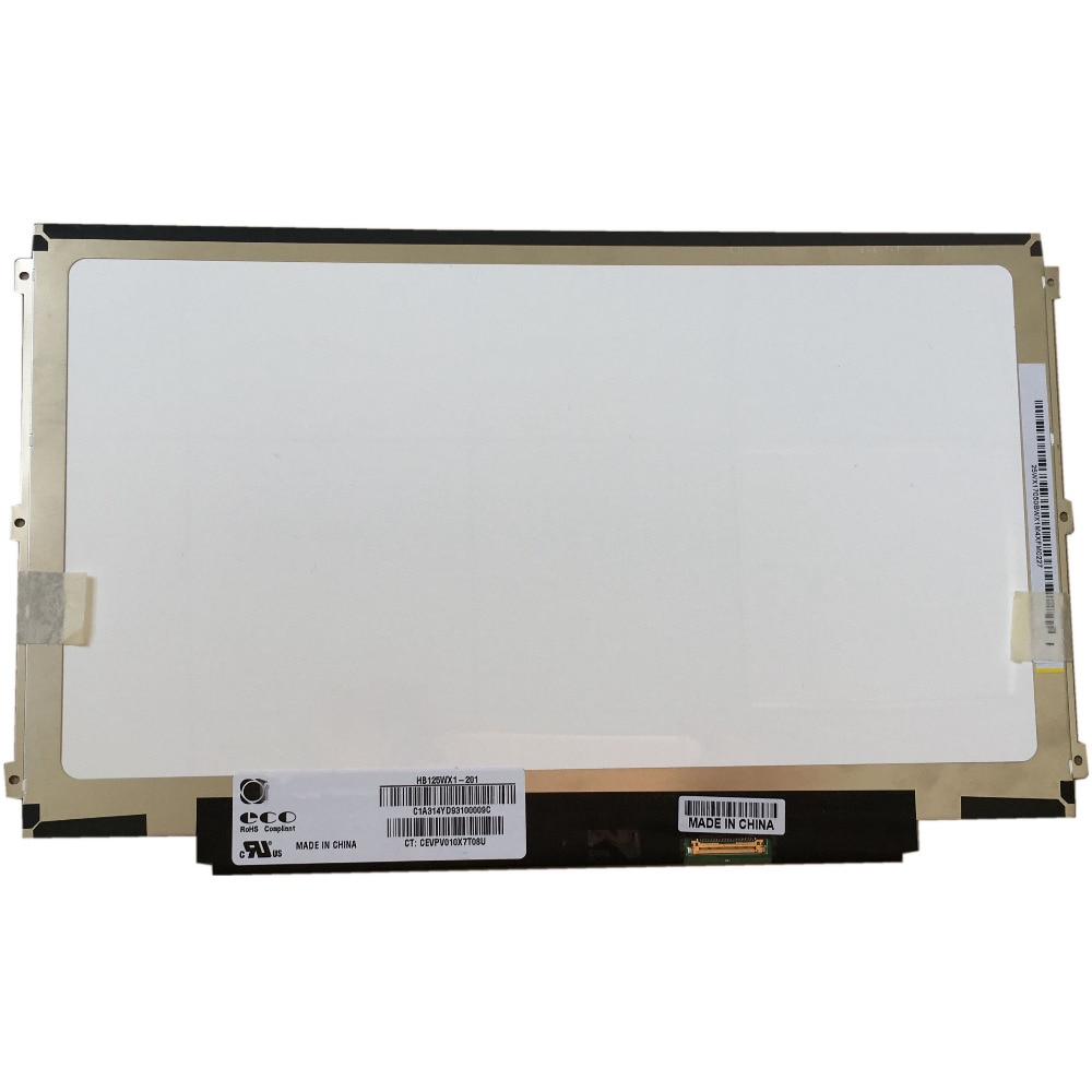 HB125WX1-201 HB125WX1-100 EDP 30 دبوس اليسار + الحق 3 المسمار ثقوب LED LCD شاشة