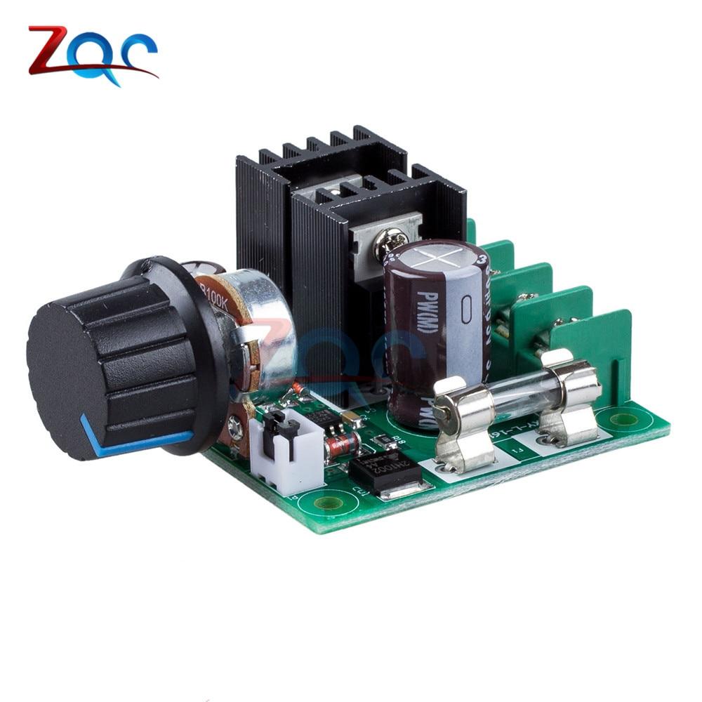 12В-40В 32В 10А режимы авто, PWM контроллер скорости двигателя постоянного тока регулятор с регулятором напряжения регулятор диммер 400 Вт Модуль ...