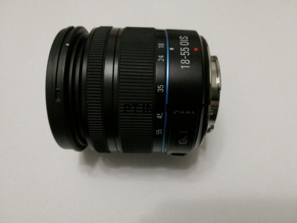 Lente de Zoom negra F3.5-5.6 OIS III, Original de 18-55mm para Samsung NX20, NX100, NX1000, NX110, NX1100, NX200, NX2000, NX300, NX300M, NX3000