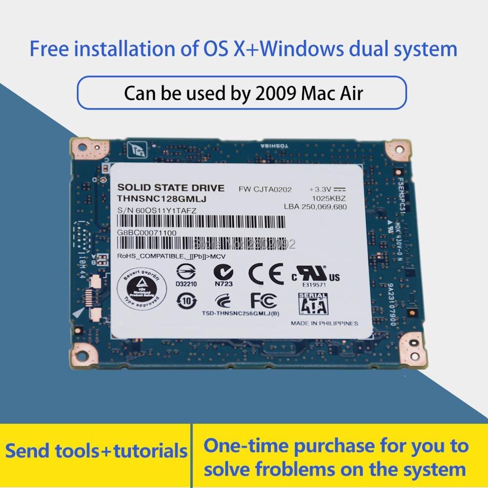 100% NEUE 1,8 zoll SATA LIF 128GB ssd FÜR 2009 macbook air a1304 mc233 mc234 festplatte hdd ersetzen HS12UHE