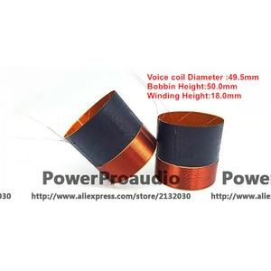 2 pcs 49.5mm woofer / loudspeaker / speaker voice coil