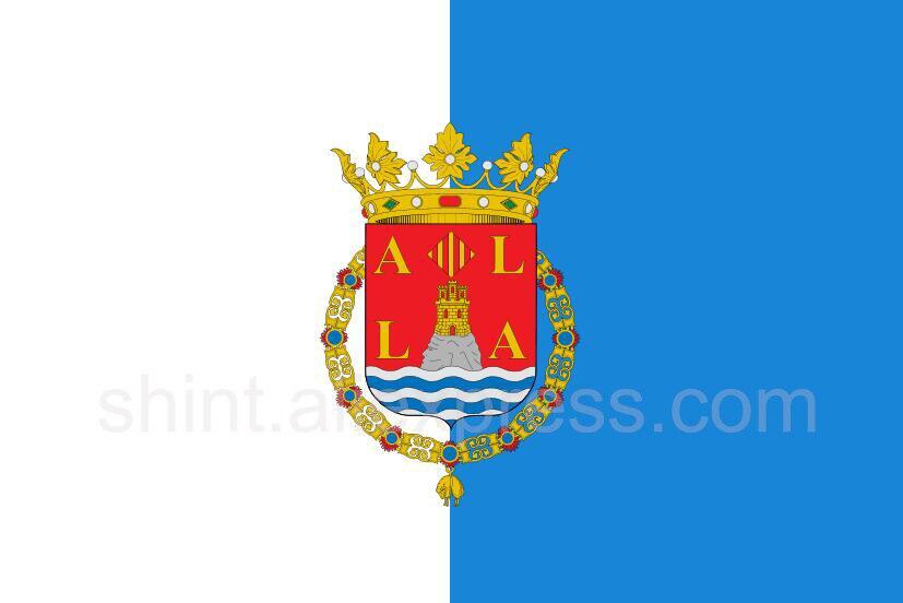 Bandera de España, cartel de poliéster de 3 pies x 5 pies,...
