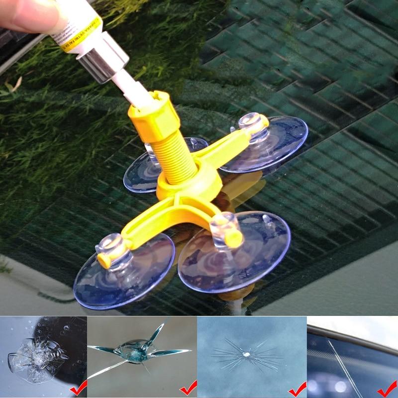 Herramienta de reparación de la grieta del rascador de cristal de la ventana del coche para Mitsubishi Outlander 3 Lancer 10 9 Asx Pajero Sport L200 Carisma colt