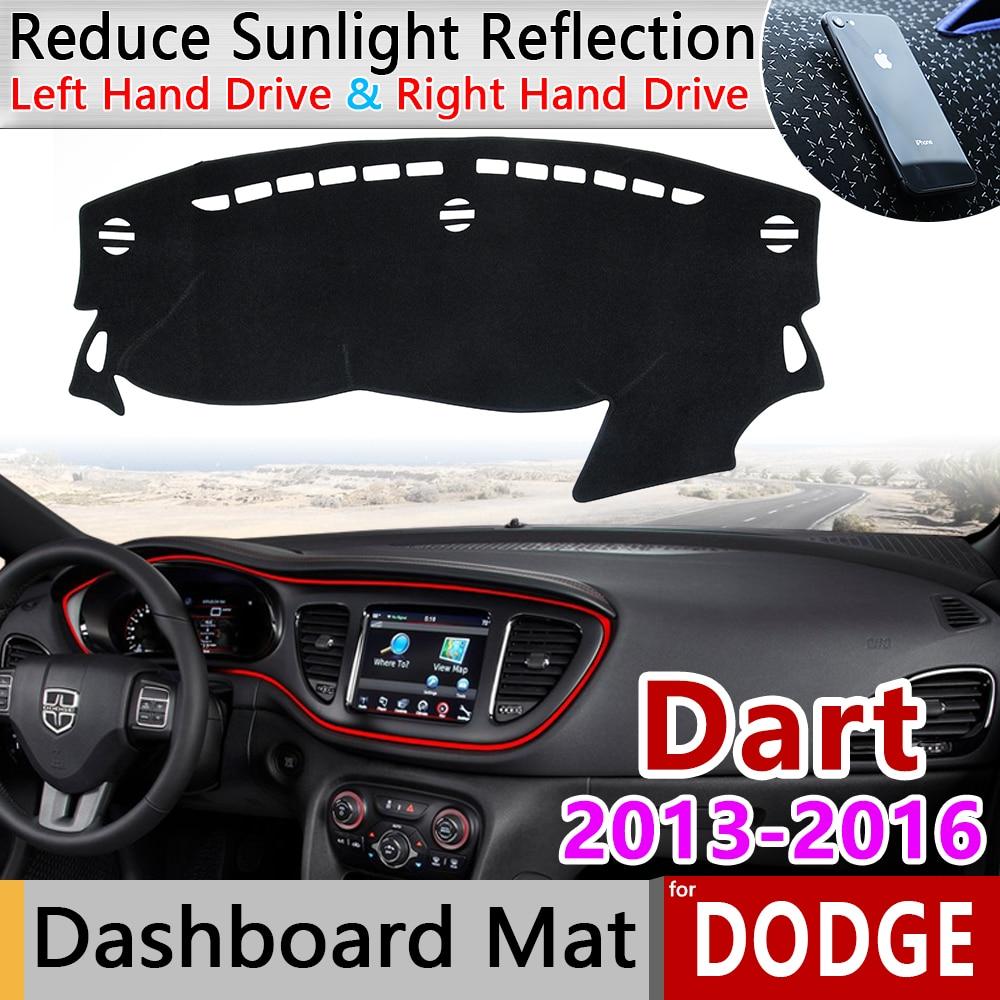 Para Dodge Dart Fiat Viaggio 2013, 2014, 2015, 2016 PF Anti-Slip Mat panel de sombrilla salpicadero proteger la alfombra accesorios de coche