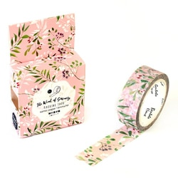 1 pc 1.5 cm * 7 m Green Leaf Álbum Washi Masking Tape Fita Decorativa Fita Adesiva DIY Decoração Fita Washi