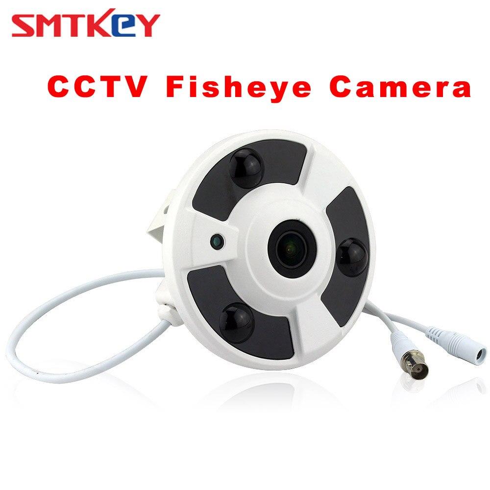 Панорамный Цвет SMTKEY 1,7 мм объектив широкий угол обзора CCTV 1200TVL fisheye Камера CMOS рыбий глаз CCTV Камера