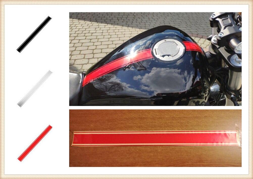 50cm carro da motocicleta forma etiqueta diy tampa do tanque de combustível reflexivo para honda cbf600 sa cbr600f hornet 250 cb400 cb599 cb600 hornet