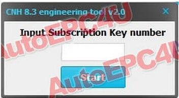 CNH EST engineering options активатор для CNH EST 7,5/7,6/7,8/8,0/8,1/8,2/8,3