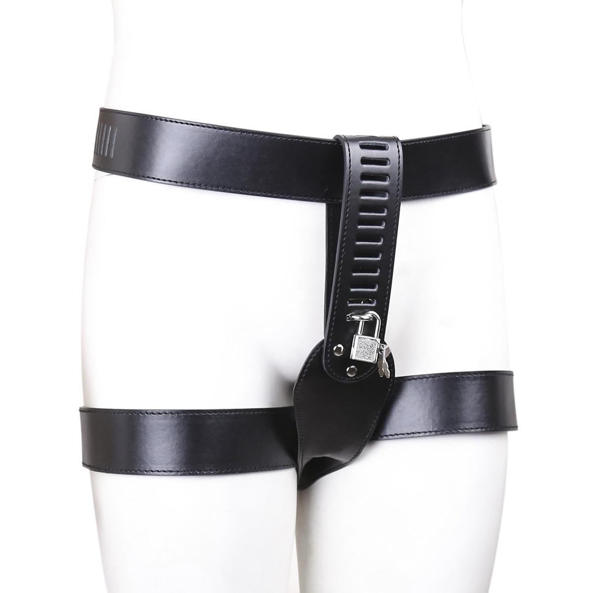 Женское целомудрие, нижнее белье, шорты с замком на поясе, сексуальные трусики, ПУ кожаные ремни, штаны, удерживающие связывание, БДСМ, нижне...