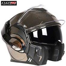 Casque de Moto vaillant LS2 FF399   Casque de course modulaire pliable et rabattable, Casco Moto Capacetes de Motociclista Cruiser
