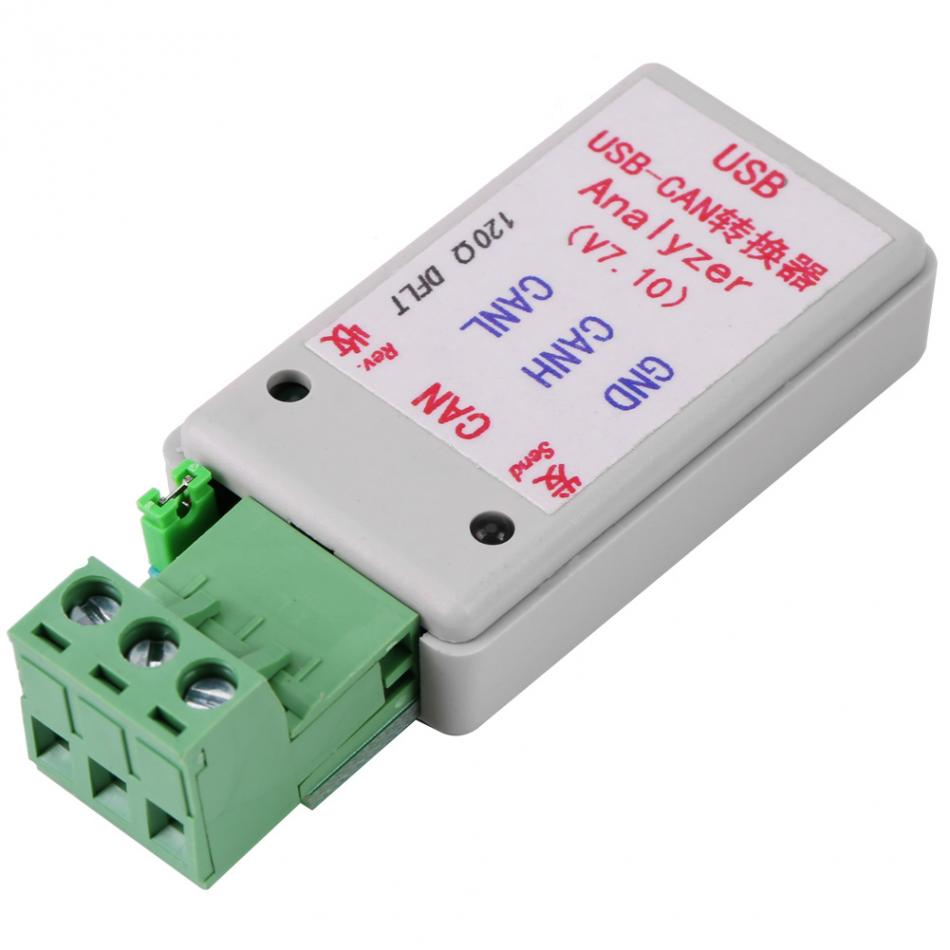 USB to CAN analyzer CAN-BUS converter adapter with USB cable support XP / WIN7 / WIN8/WIN10 enlarge