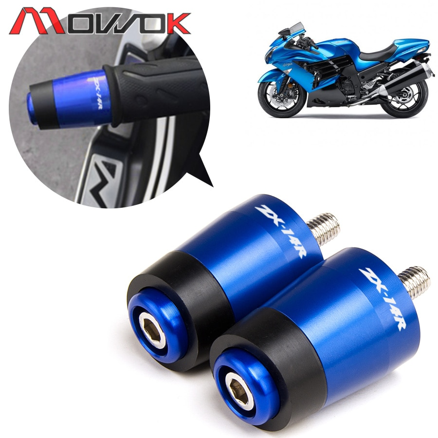 -Angebote Motorrad CNC Straße Bike Lenker Griffe Bar End Plugs Für KAWASAKI ZX-14R ZZR1400 ZX14R ZZR 1400 NINJA