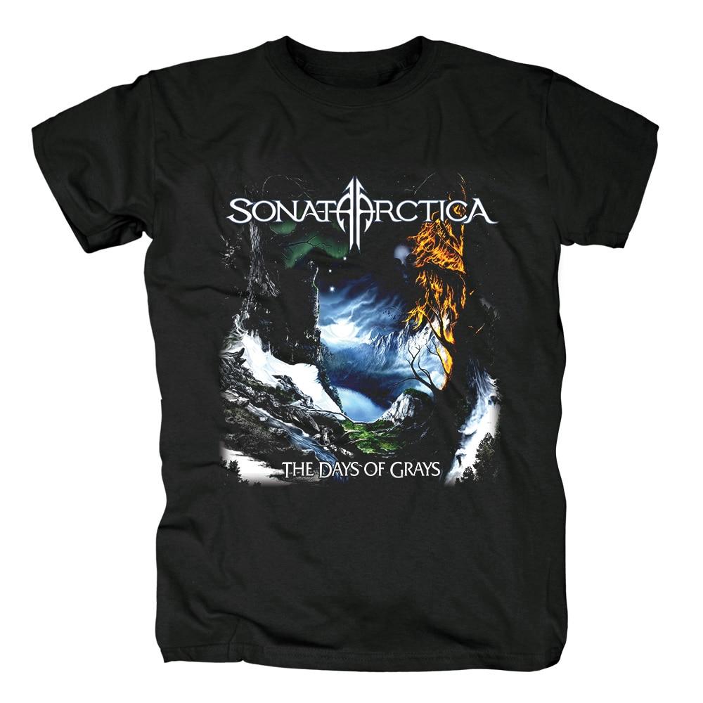Bloodhoof  Sonata Arctica heavy metal  black cotton T-Shirt Metal New  Asian Size