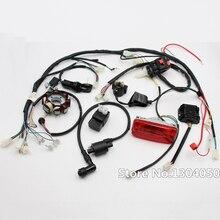 Harnais de câblage ATV QUAD 150 200 250 300CC   Dispositif de câblage CDI 8 bobines Stator feu de queue Zongshen Lifan nouveau
