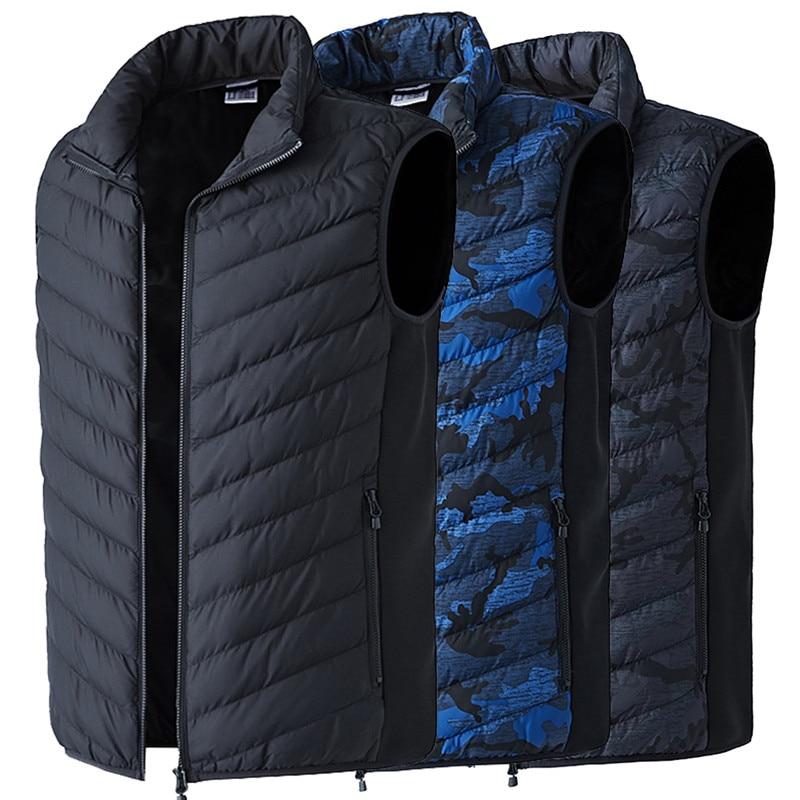 ¡El mejor regalo! chaqueta de calentamiento inteligente con batería eléctrica USB, chaleco de entrenamiento térmico con capucha, chaqueta de tela, abrigos, calentador de cuerpo