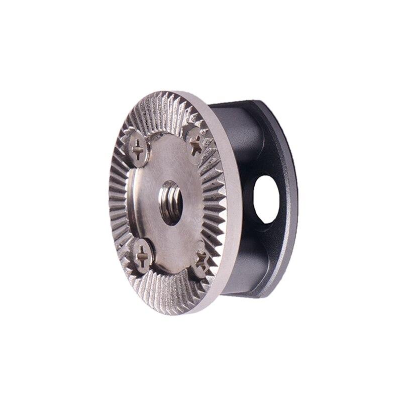 Arri roseta padrão parafuso-no adaptador de montagem (rosca m6, 31.8 diâmetro) para a gaiola da câmera dslr, punho, aperto de mão de madeira, equipamento com r