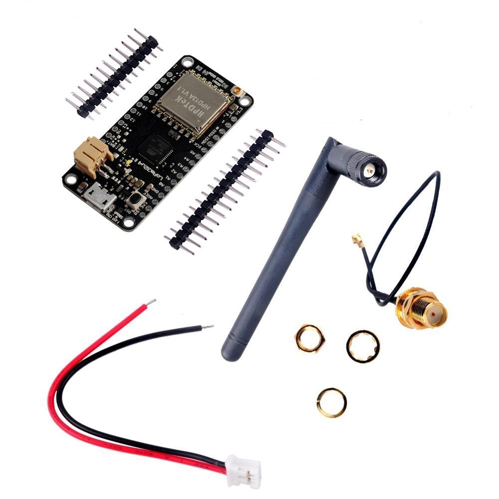LoRa32u4 II 868mhz 915MHz Lora płyta modułowa dewelopera IOT, płyta o niskim zużyciu energii oparta na antenie LiPo Atmega328 SX1276 HPD13