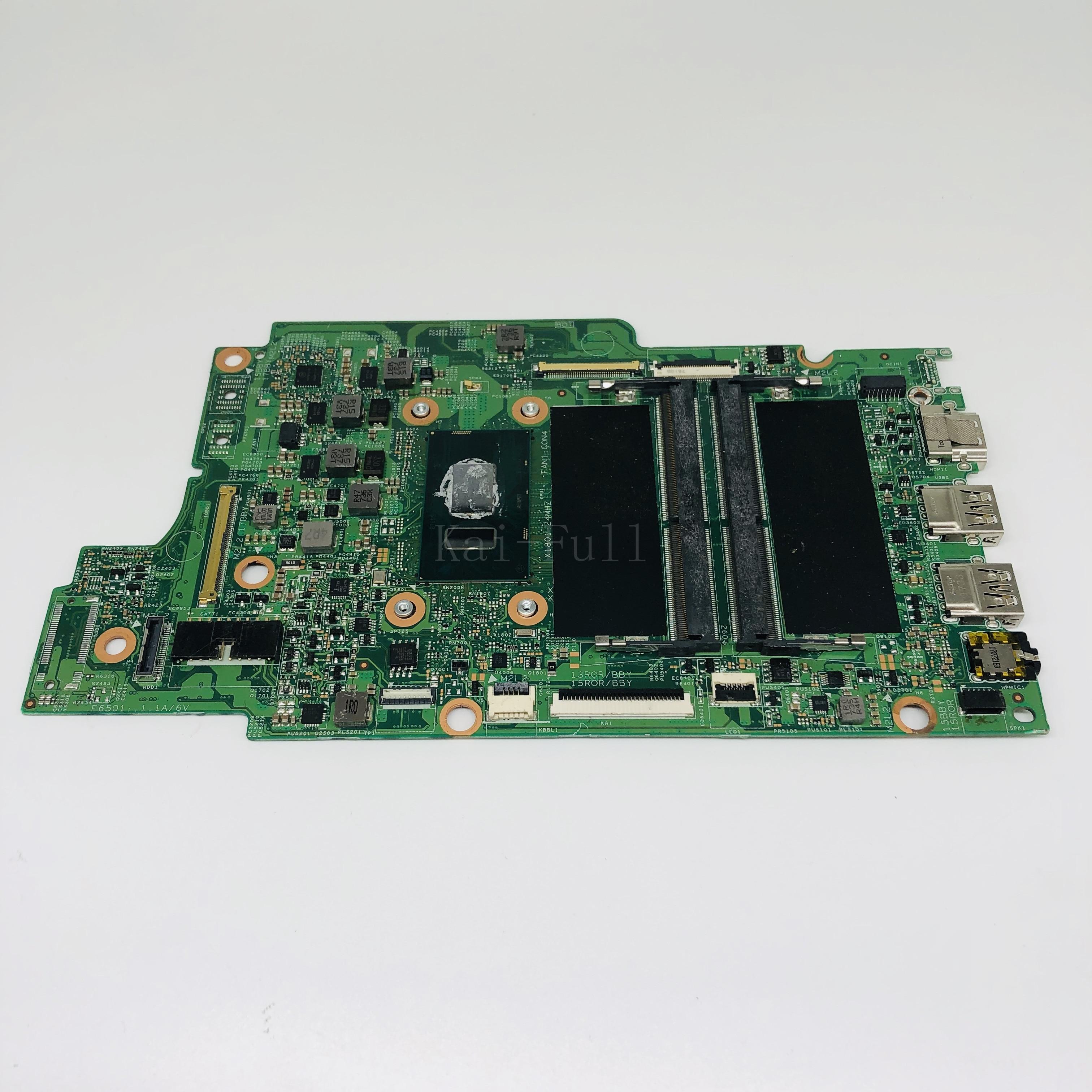 Placa base para ordenador portátil DELL Inspiron 5379 5579 placa base para ordenador portátil con I5-8250U CPU 0KJ0J 00KJ0J CN-00KJ0J DDR4