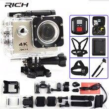 Caméra daction riche F60/F60R Ultra HD 4 K/30fps WiFi 2.0