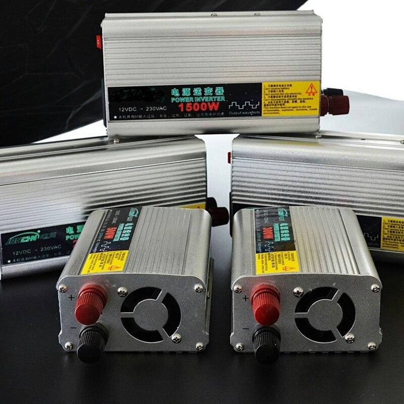 Onduleur dénergie solaire   Onde sinusoïdale modifiée DC12V à AC 220V 500W