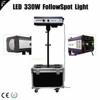following spot light led 330w with flightcase for weddingtheater decoration performance follow spot light