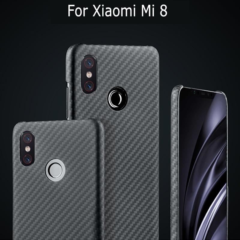Caso de fibra de carbono capa para xiao mi 9 pro mi 9 5g mi x 3 caso fosco ara mi d fibra ultra fino luxo capa protetora do telefone