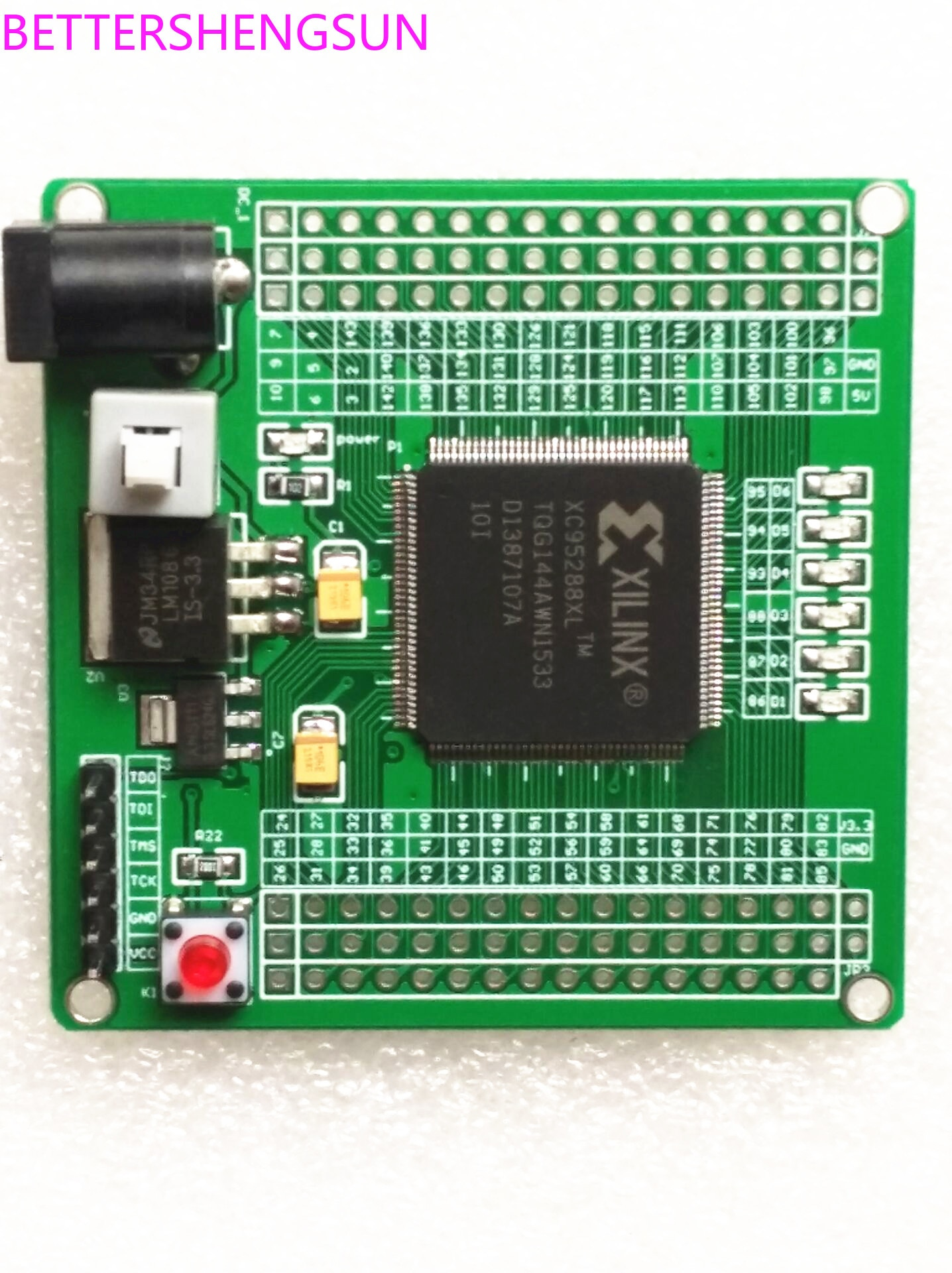 XILINX CPLD XC95288XL макетная плата минимальная системная плата