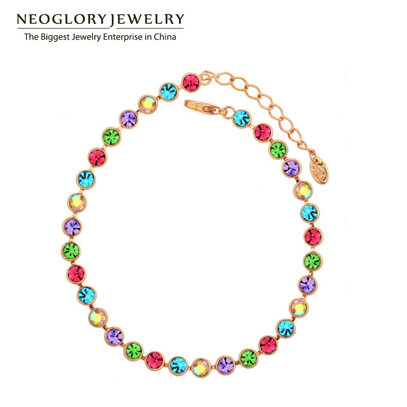 Neoglory multi colorido contas bangles & braceletes fashion statement jóias marca menina mãe presente 2020 novo quente colf