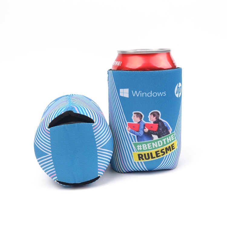 Wholesale Top Quality Customized logo printing 3mm Neoprene Can beer bottle Cooler Stubby Holder
