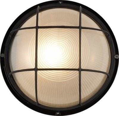 IWHD-lámpara De Techo LED Vintage, plafón redondo De cristal, para dormitorio, sala...