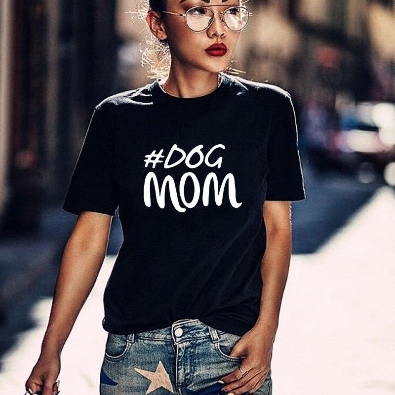 Харадзюку, футболка для мамы, подарок на день матери, женская футболка, футболка для собаки, футболки с графическим принтом для любимой собаки, летние топы