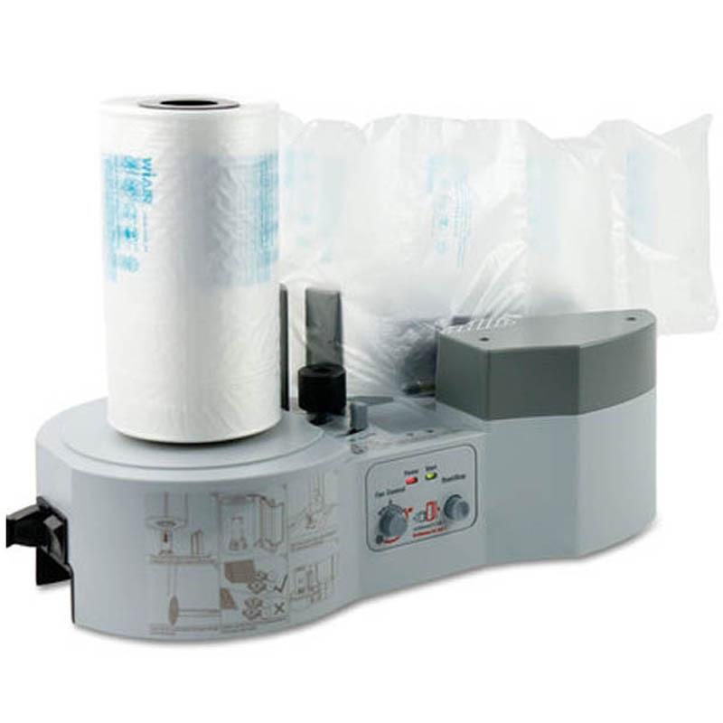 Máquina de cojín de aire, máquina de almohada de burbujas de aire, paquete expreso, máquina de bolsas de aire de burbujas, aireador de embalaje, GD-1000, 220 ~ 240 V, nuevo