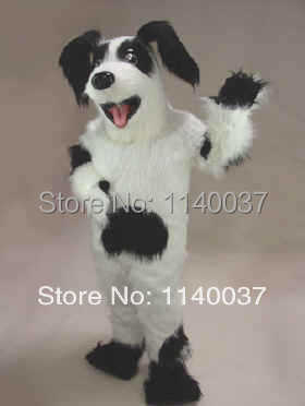 Material de felpa de la mascota Fido disfraz de Mascota de perro personaje de dibujos animados carnaval disfraz de disfraces de fiesta