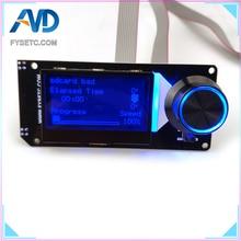 B Type MINI12864LCD écran rvb rétro-éclairage blanc mini 12864 affichage intelligent Support Marlin bricolage SKR avec carte SD 3D imprimante partie