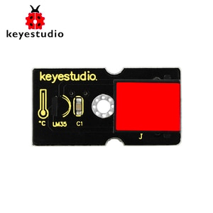 New!Keyestudio EASY plug LM35 Temperature Sensor module for Arduino STEAM