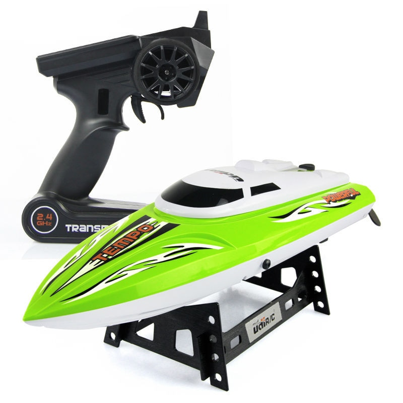 New UDI002 2.4g 4ch High Speed RC Electric Sporting Boat with Water Cooling System/ Low Voltage Alarm/ Rollover Reset enlarge