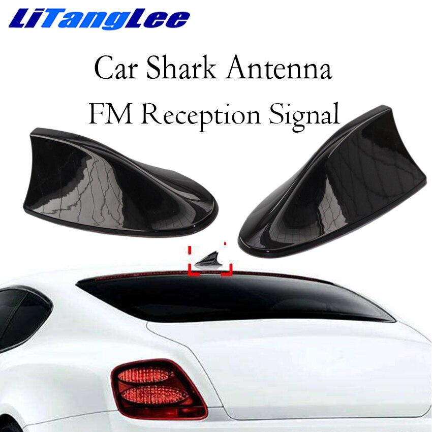 Antena tipo aleta de tiburón de coche Litanglee, decoración para coche, señal FM, antenas de Radio de coche para Volvo V60 V70 S60 XC90 XC60 XC70 C70 C30
