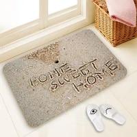 Paillasson personnalise doux pour la maison  6  H-P770 Polyester  tapis de porte  tapis de sol  tapis de pied  SQ00729-  H0770  100
