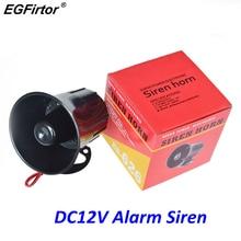Alarme sirène à fil 12V cc   Alarme dextérieur de sécurité, klaxon dalarme de forte intensité 115Db, haut-parleur pour système dalarme 15W