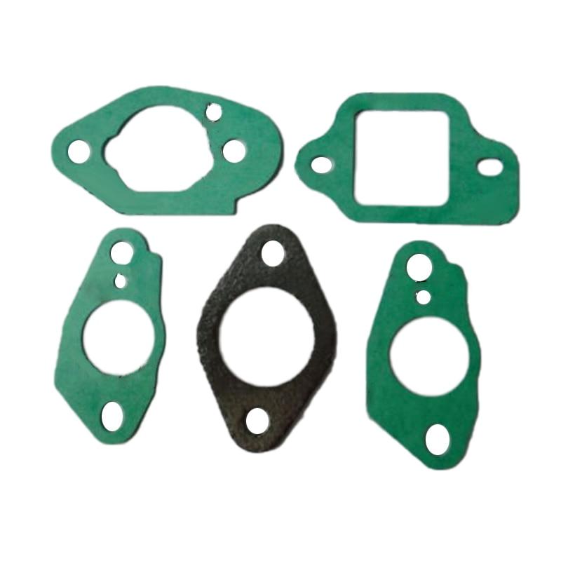 5 шт./компл. Комплект прокладок карбюратора Подходит для Honda тормоза для Gcv135 Gc135 Gcv160 или Gc160 двигатель зеленый, черный для дома Diy садовые инструменты