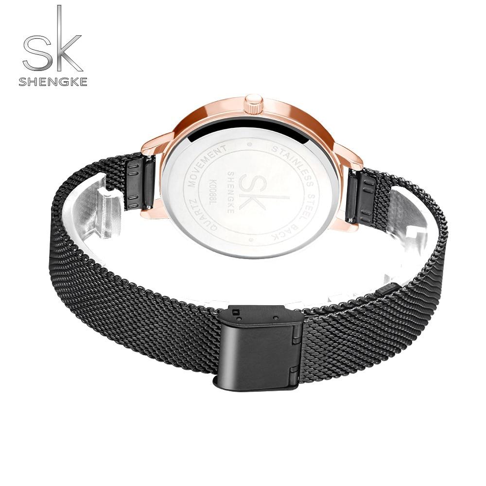 SK Fashion Luxury Brand Women Quartz Watch Creative Thin Ladies Wrist Watch For Montre Femme 2019 Female Clock relogio feminino enlarge
