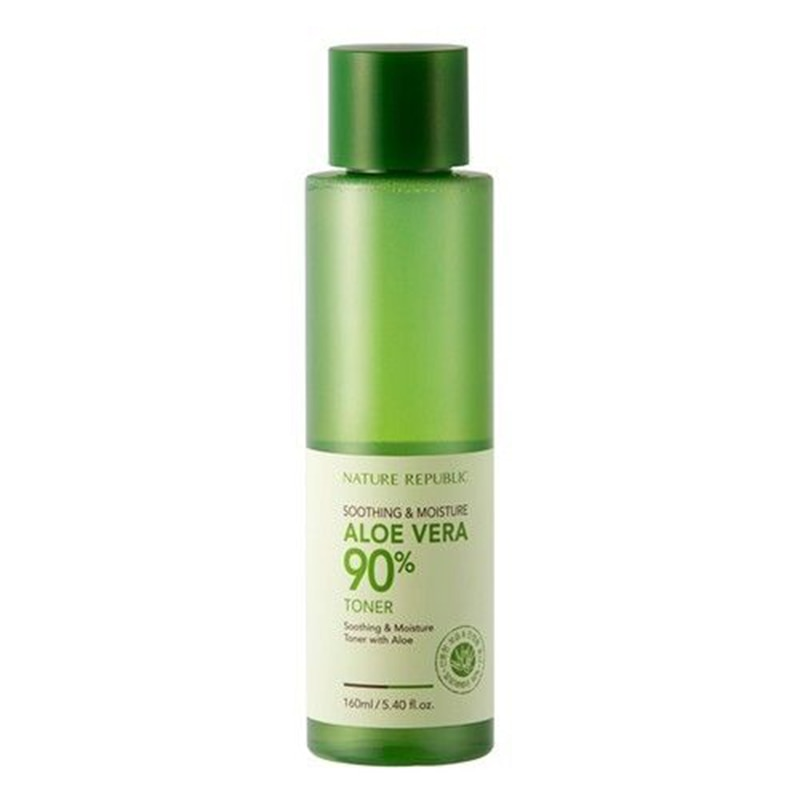 Korea Kosmetik NATUR REPUBLIK Beruhigende & Feuchtigkeit ALOE VERA 90% Toner 160ml Gesicht Toner Akne Behandlung Gesicht Pflege Feuchtigkeits