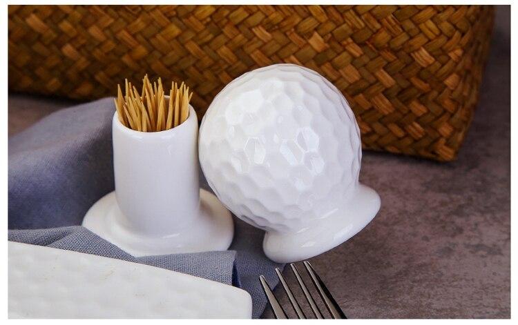 Простой белый костяной Китайский держатель для зубочистки, Забавный 3D дизайн воды, керамический держатель для зубочистки, Фарфоровая короб...