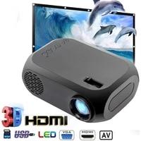 BLJ-111 LCD FHD Intelligent Projecteur 4K 3D 1920 1080P Mini Interfaces Projecteur Support USB AV Video HDMI Home Cinema Film Support pr