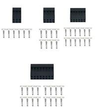 20 Pcs Dubbele Rij 2.54 Mm 6/8/10P 2x 3/2x 4/2x 5/2x 6/2X7 Connector Plastic Omhulsel Plug Jumper Wire Kabel Pin Header