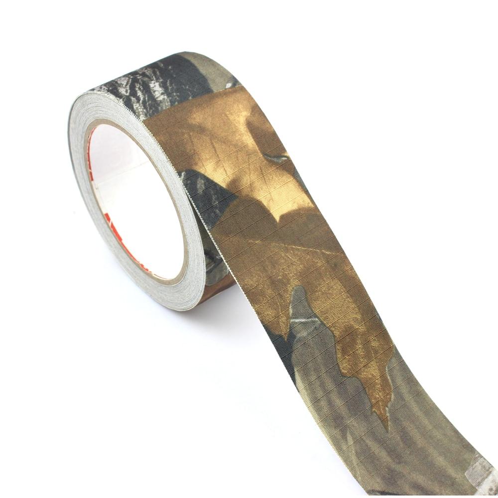 ROCOTACTICAL cinta adhesiva para camuflaje-se aferran Rifle de Ripstop cinta de camuflaje para caza Camo Stealth cinta